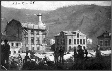 Construcción del antiguo Ayuntamiento 1921