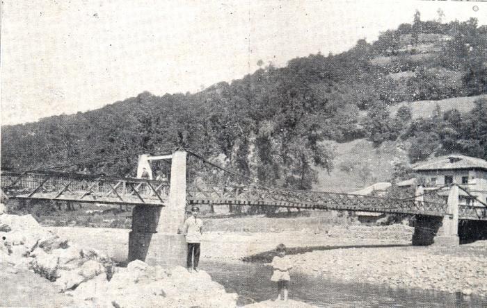 Antiguo puente de la Oscura