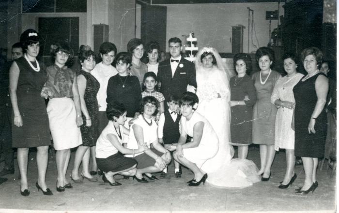 Boda de Ino y Manolita, 1974