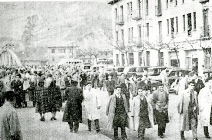Domingo de fútbol, El Entrego 1952