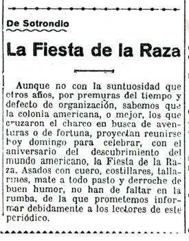 """""""La Región"""", 12 de octubre de 1924"""