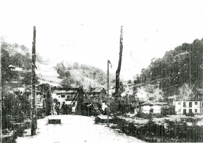 La Oscura desde El Entrego, 1927
