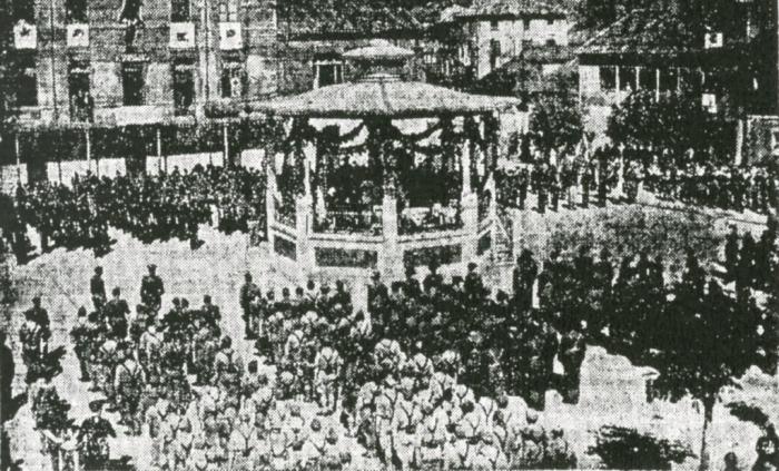 Fervor patriótico, Sotrondio 1938