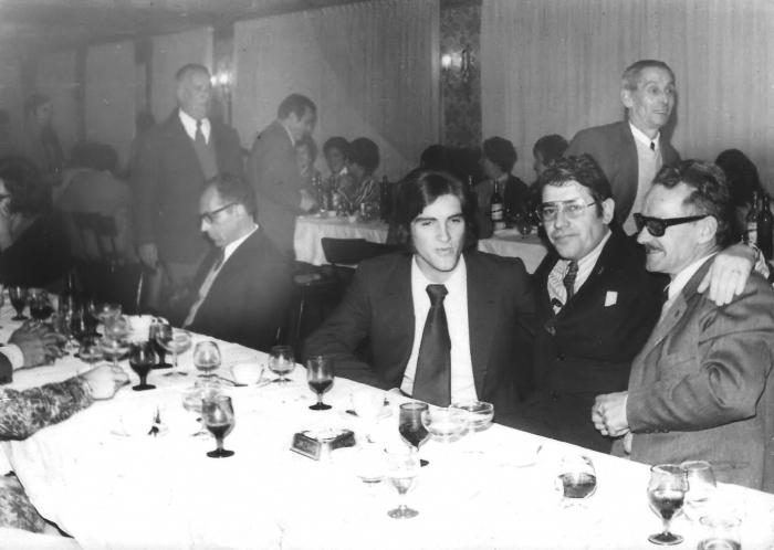 """Comida del """"Día del Maestro"""" del año 1973"""