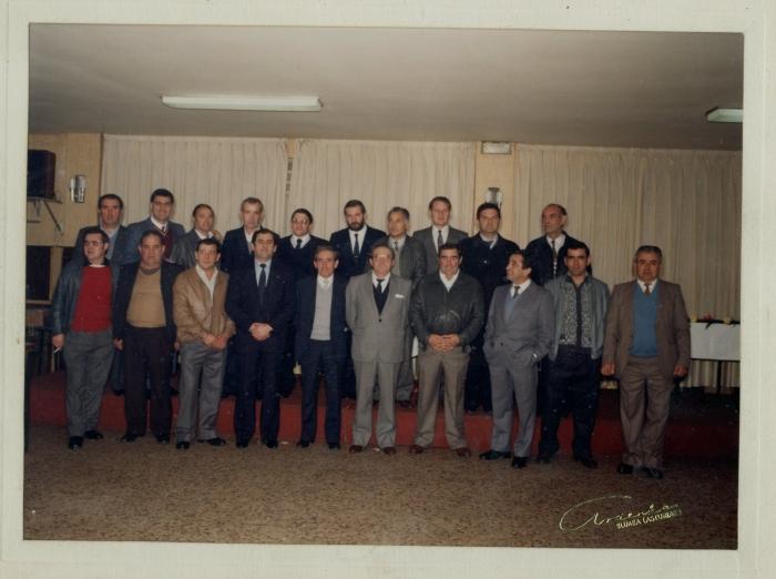 Entrega de premios de Hunosa, 1986